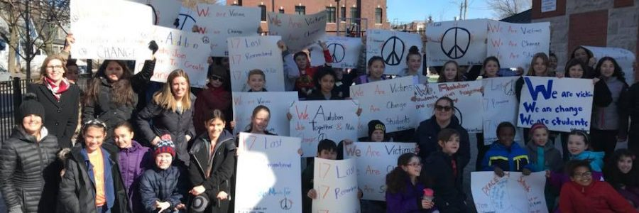 Ann Williams Joins Students in Audubon School Walkout