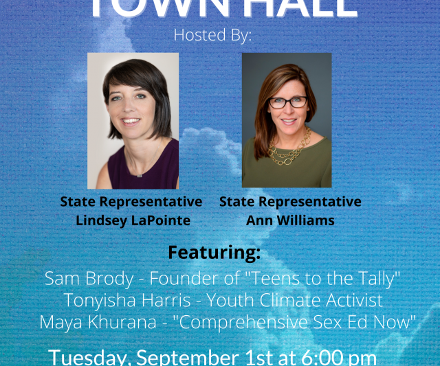 Rep. Ann Williams Hosts a Youth Town Hall