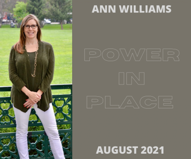 Rep. Ann Williams Interviews with Power in Place